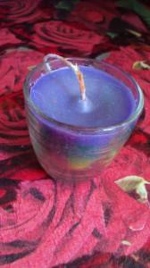 родужная свеча