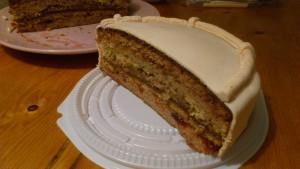 половинка торта