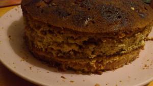 заготовка торта бок