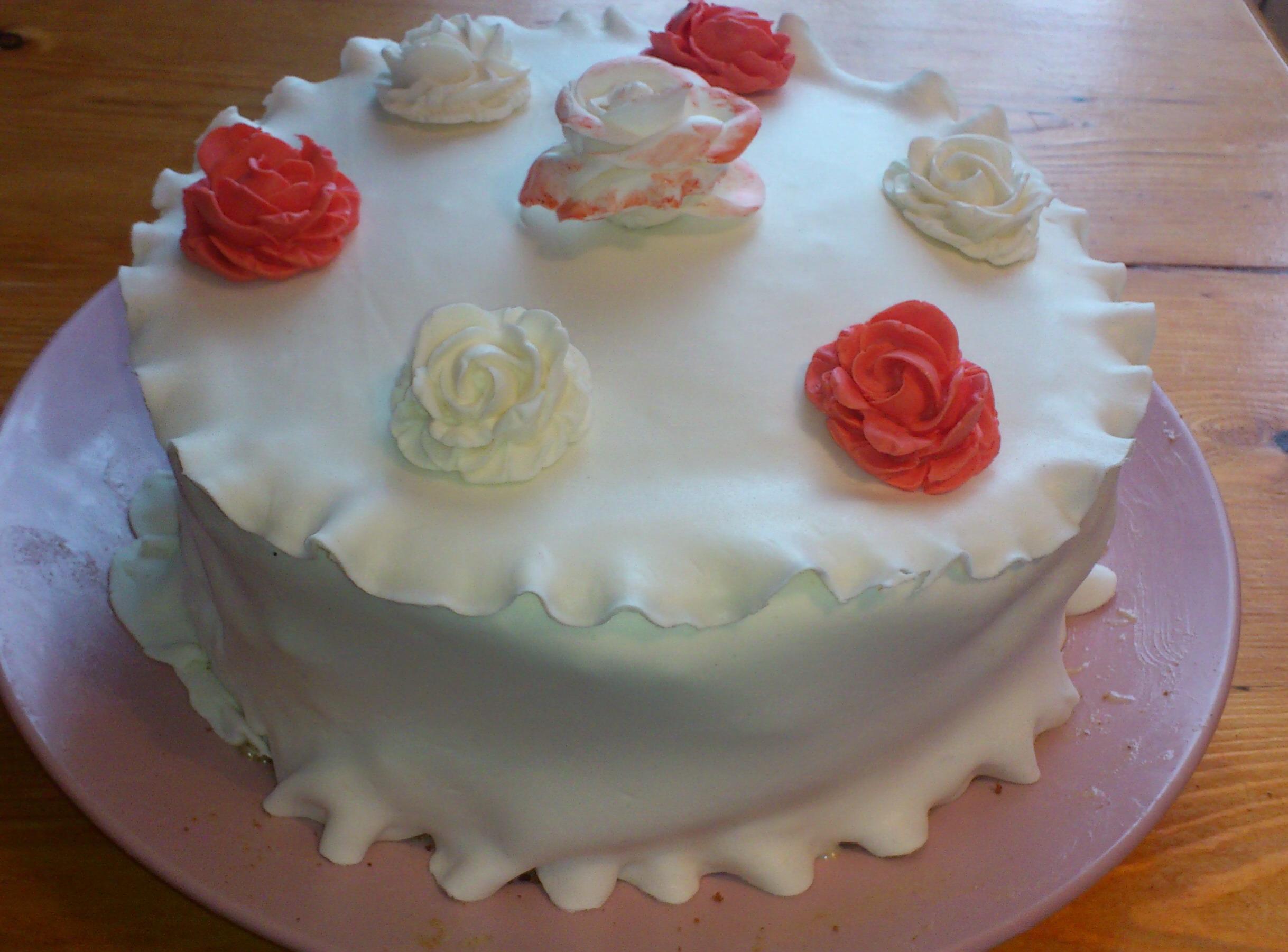 Украшение для тортов в домашних условиях из мастики
