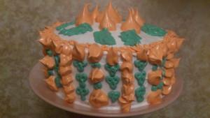 торт Праздничный с боку