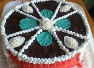 торт для Альбины